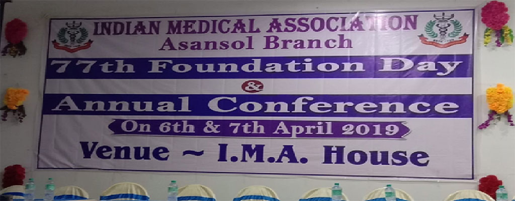 Indian Medical Association meeting at Asansol